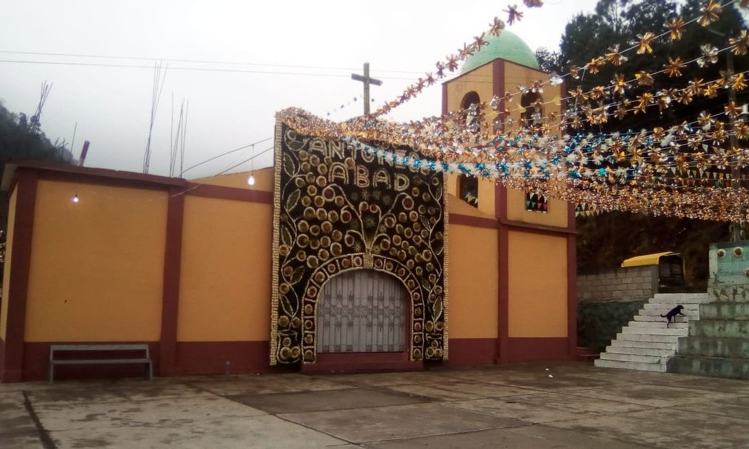 Tetlatzinga celebra su fiesta patronal