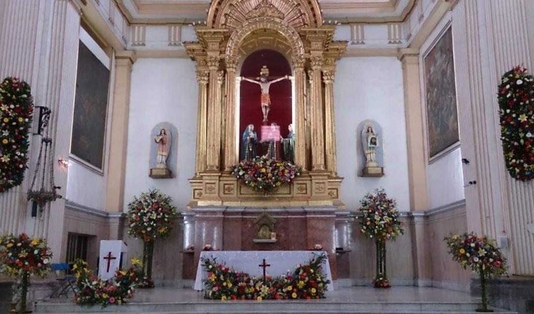 Santuario de nuestro Señor del Calvario,   el primer templo que se construyó en Orizaba