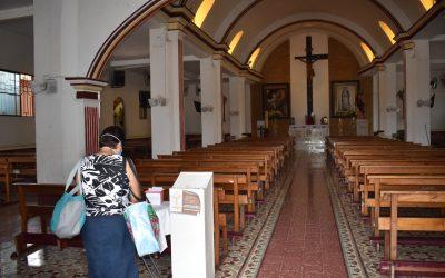 Se mantienen en Diócesis Eucaristías privadas