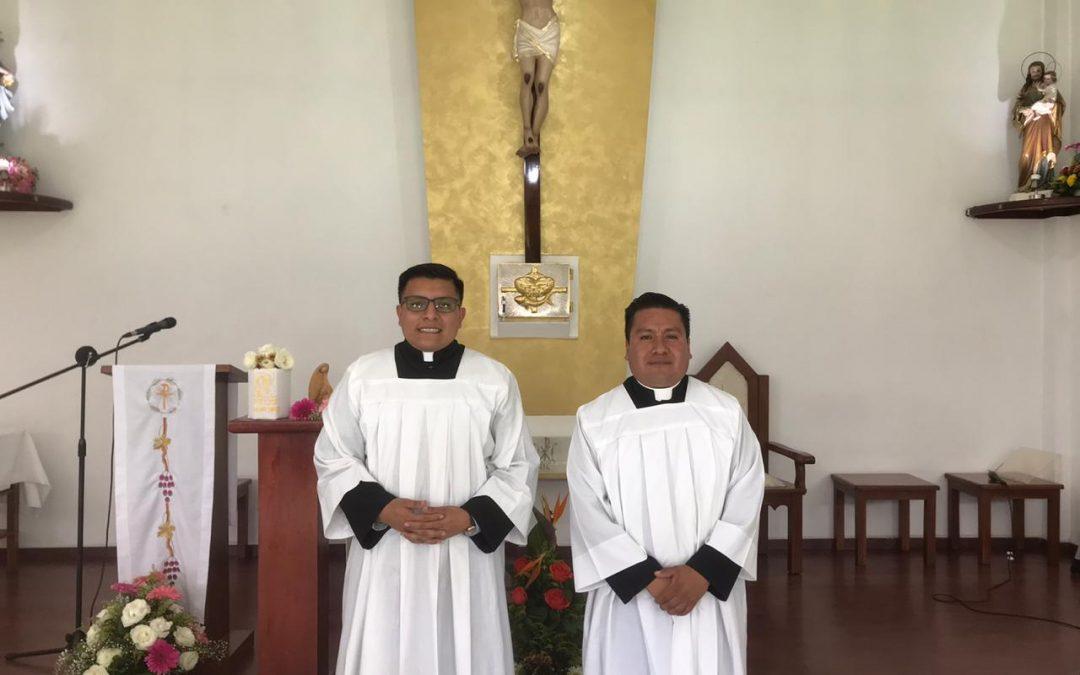 En septiembre, Enrique y Álvaro recibirán el Orden del Diaconado