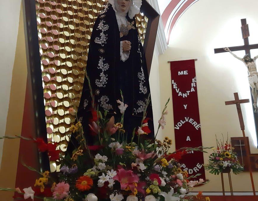 Virgen de los Dolores alivia nuestro sufrimiento