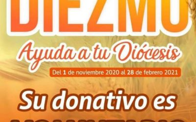 Diezmo fortalece la caridad