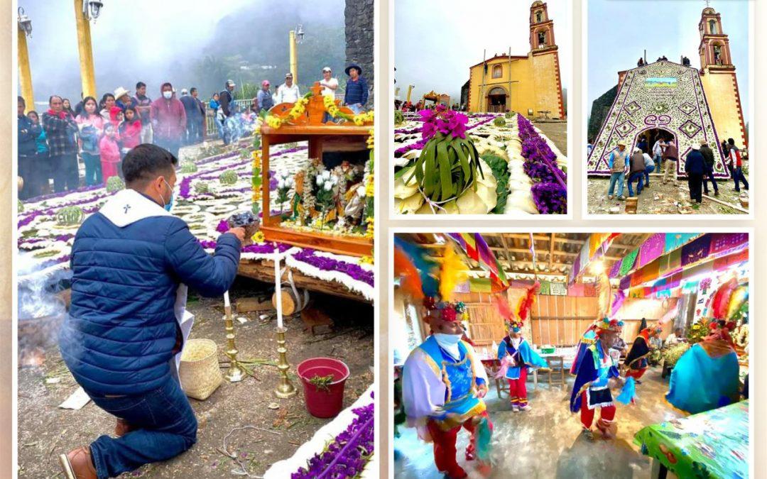 Festeja comunidad de Los Reyes a sus patronos