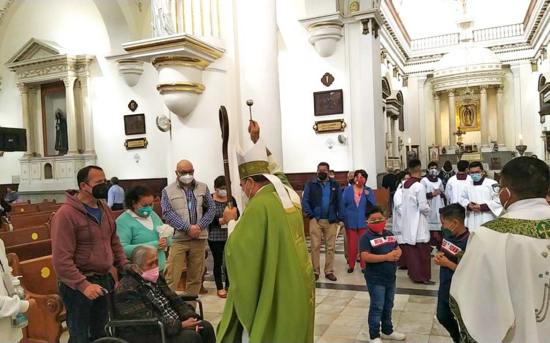 Pide Obispo orar por la ciudad y la seguridad