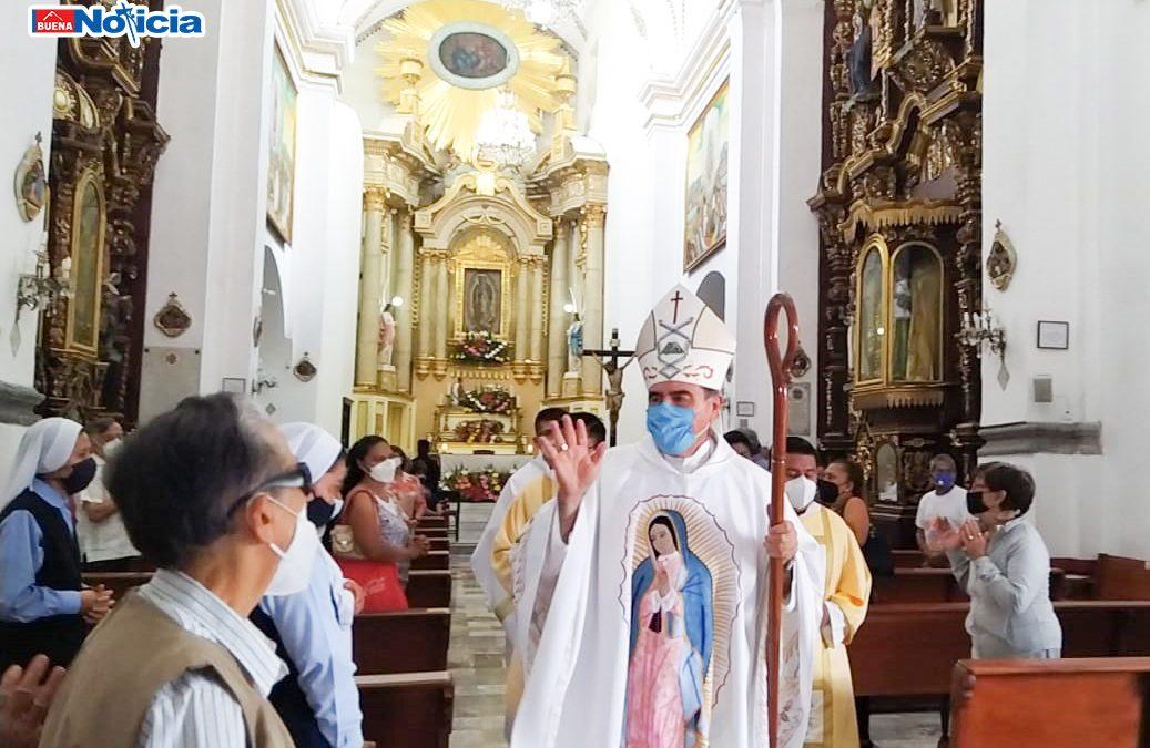 Hoy peregrinamos como Diócesis ante los pies de la Virgen Morena